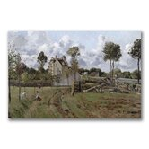 """Pontoise Landscape"" Canvas Art"