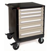 Bench High Standard Mobile Tool Cabinet: 30&quot; W x 28 1/4&quot; D x 40&quot;  H