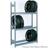 "2 Tier Truck Tire Rack Units (96""W x 18""D x 84""H)"