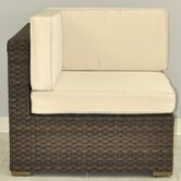 Miami Atlantic Corner Sectional Seat with Cushions