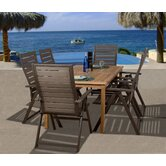 Amazonia Durham 7 Piece Dining Set