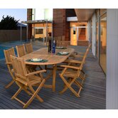 Amazonia Queens 9 Piece Dining Set