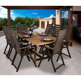 Amazonia Westham 9 Piece Dining Set