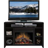 Urban Loft 56&quot; TV Stand with Electric Fireplace