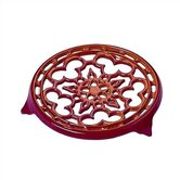 9&quot; Deluxe Round Trivet in Cherry