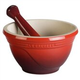 Large Mortar and Pestle Set in Cherry