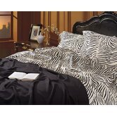 Charmeuse Zebra Print Sheet Set