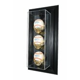 Three Baseball &quot;Case-Up&quot; Display