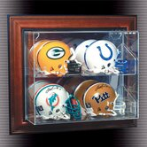 "Four Mini Helmet ""Case-Up"" Display"