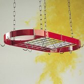 Gourmet Oval Hanging Pot Rack