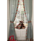 Aidan Window Drapes with Tie Back
