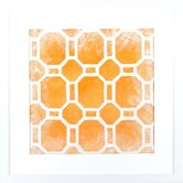 Modern Living Modern Symmetry I Framed Wall Art