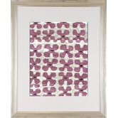 Modern Living Silk Road Ikat 3 Framed Wall Art