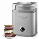 Pure Indulgence 2-qt. Frozen Yogurt-Sorbet & Ice Cream Maker
