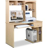 Alegra 48&quot; W Student Computer Desk and Hutch
