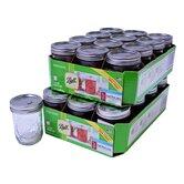 24 Piece Ball Mason Canning Jar Set
