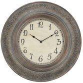 Melville Clock in Distressed Aged Copper
