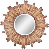 Catherine Mirror in Distressed Natural Rustic Wood