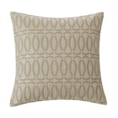 "Abstract Palm 16"" Square Pillow in Linen"