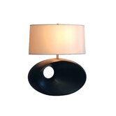 Convergence Table Lamp in Dark Brown