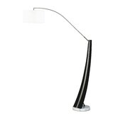 Planar Arc Floor Lamp in Dark Brown