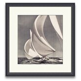 Sail Away Spinnakers I Framed Photographic Print