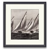 Sail Away Spinnakers III Framed Photographic Print
