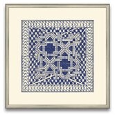 The Pretty Pantile Small Tile III Framed Graphic Art