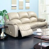 Dane Leather Reclining Sofa