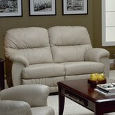 Dorado Leather Reclining Loveseat