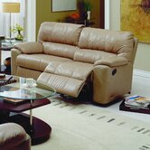 Yale 2 Seat Reclining Leather Sofa and Recliner Set