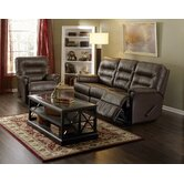 Fiesta 2 Piece Leather Reclining Living Room Set