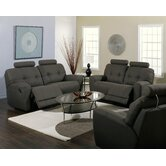 Galore 2 Piece Fabric Reclining Living Room Set