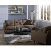Trista 2 Piece Fabric Living Room Set