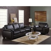 Massi 2 Piece Leather Living Room Set