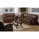 Marcella 2 Piece Leather Living Room Set