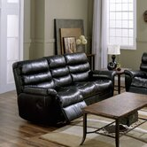 Prize Leather Reclining Sofa