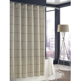 Mar-A-Lago Stripe Shower Curtain in Cream