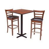 Zoe Stools and Square Café Table