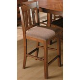 Belmont School House Counter Height Stool in Saddle Brown Oak