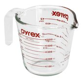 2 Cup Clear Measuring Cup (Set of 6)