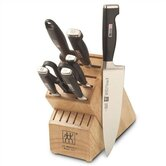 Twin Four Star II 8 Piece Cutlery Block Set