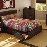 Willow Full Storage Platform Bed