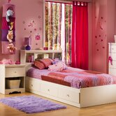 Crystal Twin Mates Captain Bedroom Collection