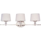 Rondo  Vanity Light in Polished Nickel