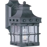 Nantucket  Outdoor Wall Lantern in Country Forge