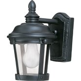 Dover DC Small Outdoor Wall Lantern in Bronze