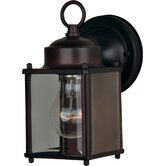 Side Door  Outdoor Lantern in Oil Rubbed Bronze