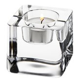 Ice Cube Crystal Votives (Set of 2)