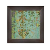 Secret Garden Framed Graphic Art